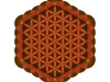 flower-of-metatron-element-earth-tuareg-artisenat2
