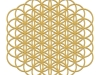 flower-of-metatron-gold-matt