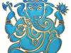 ganesha-aumkara-blue