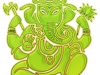 ganesha-aumkara-light-green