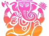 ganesha-aumkara-orange-rose