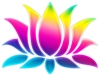 lotus-flower-rainbow